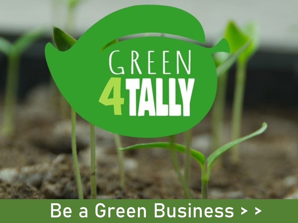 We want to especially recognize and promote local green businesses! Are you one?  Let us know!